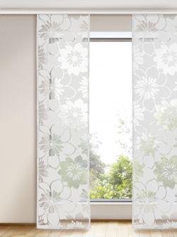 Mit diesen bezaubernd schönen Flächenvorhang setzt ihr elegante Akzente in eurem Zuhause. Gardinen Outlet - Euer Flächenvorhang Online Shop.