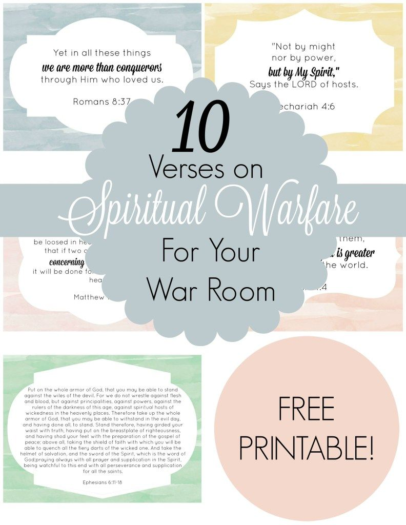 10 Verses On Spiritual Warfare For Your War Room A Little R R War Room Prayer Journal War Room Prayer War Room Prayer Scriptures