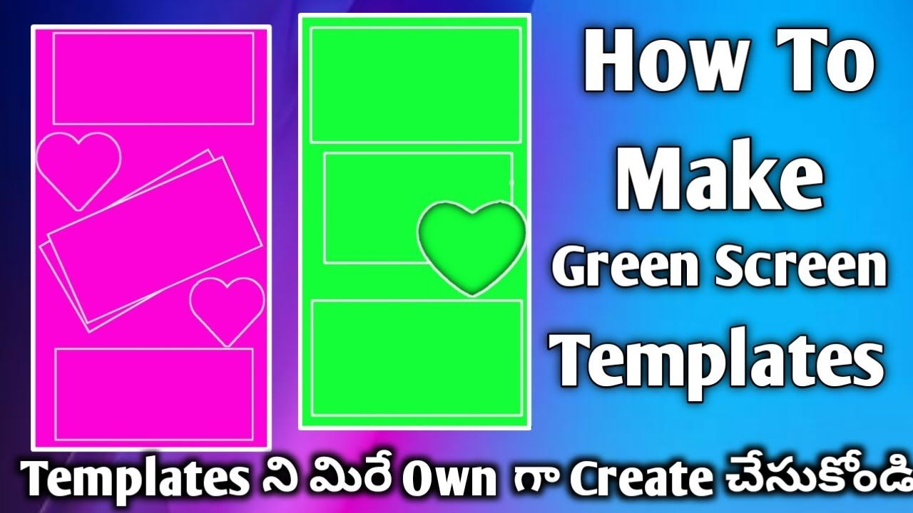 How To Make Green Screen Template Kinemaster Video Editing Status Video How To Make Greens Greenscreen Video Editing