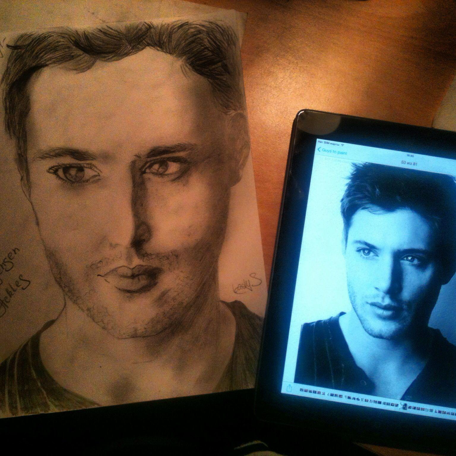 Jensen Ackles #sketch