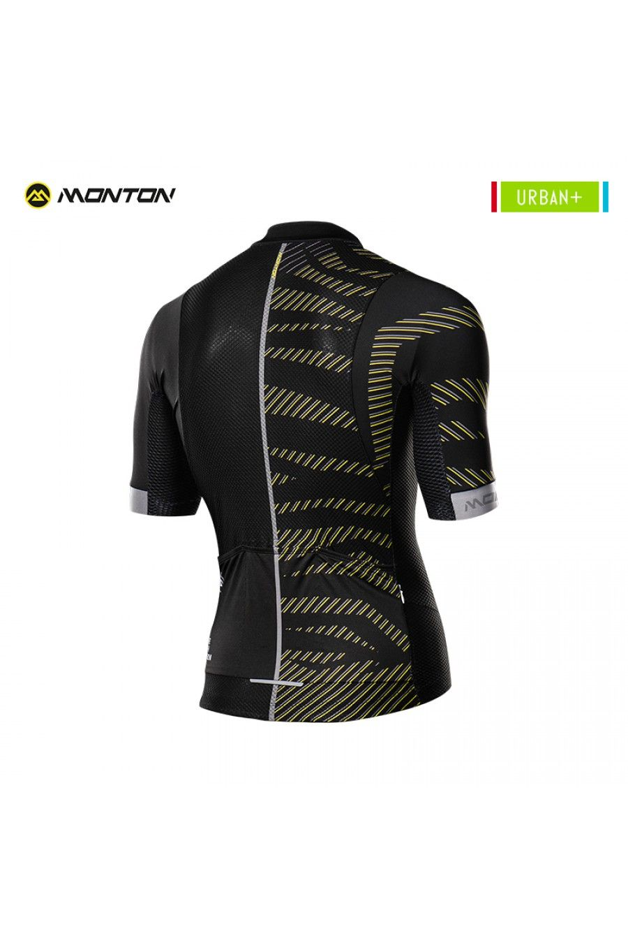 Black yellow cycling jersey  aab1a3344