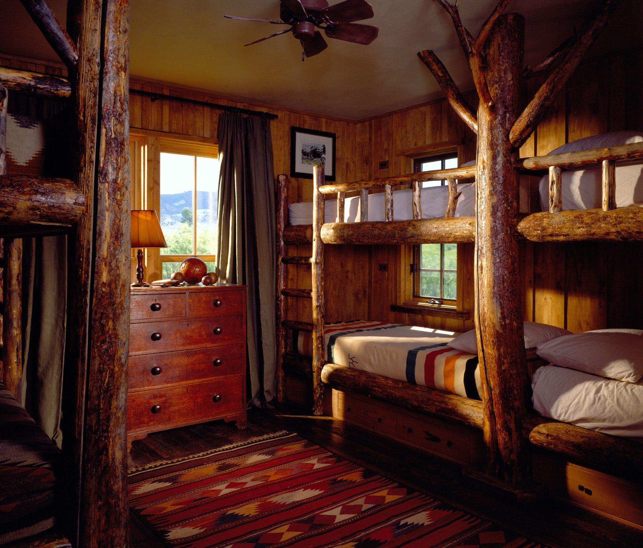 Ruby river bunk room sleeping quarters pinterest bunk rooms