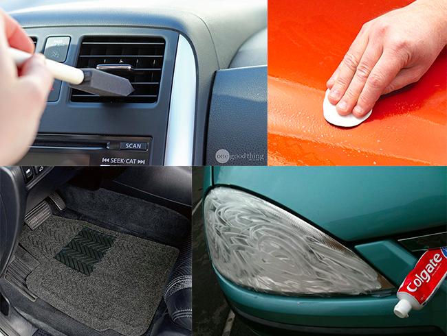 10 astuces pour nettoyer tous les recoins de votre voiture a trier pinterest. Black Bedroom Furniture Sets. Home Design Ideas