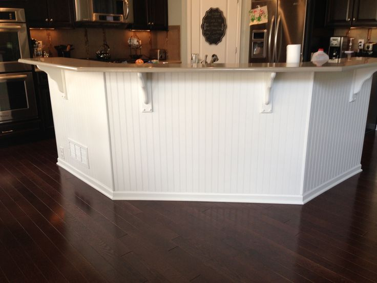 Beadboard Bar Bead Board Under Kitchen Island Dreams Kitchens