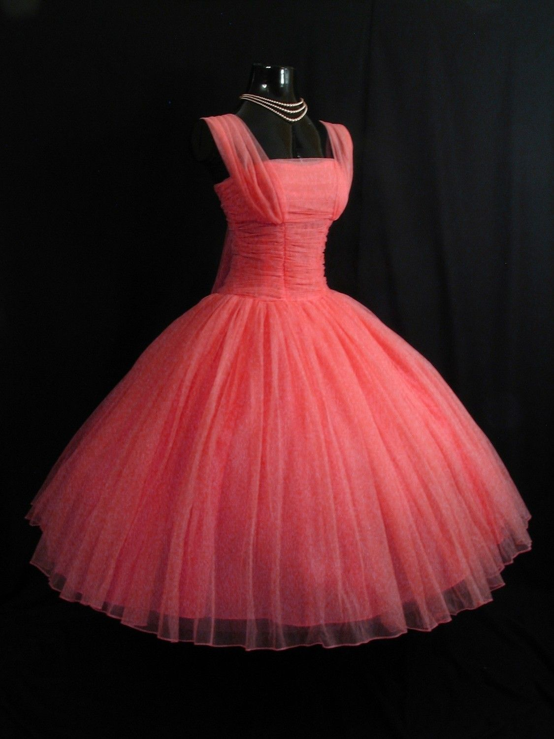 Vintage 50's 1950's Party Prom Dress. Prom dresses