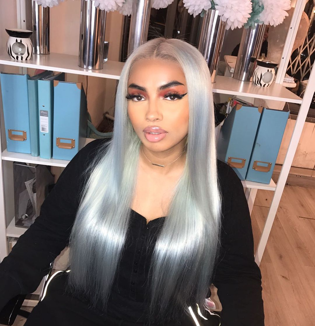 Gorgeous Taliquindio Rocking Hairess Blonde 16 Frontal And 20