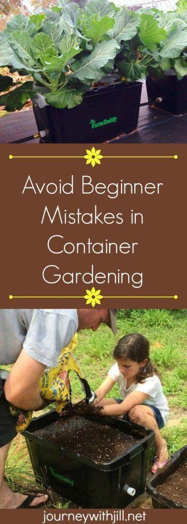 Avoid Beginner Mistakes in Container Gardening