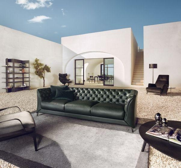 Awesome La Scala Zitbanken Leer Natuzzi Natuzzi Sofa Couch Alphanode Cool Chair Designs And Ideas Alphanodeonline