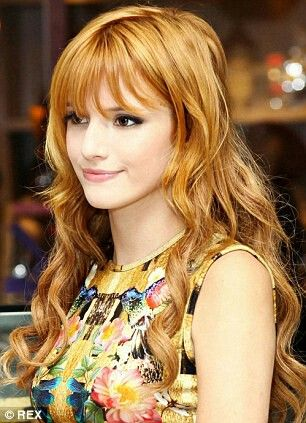 Pin by Shadow Finds on Bella Thorne 16 | Bright blonde