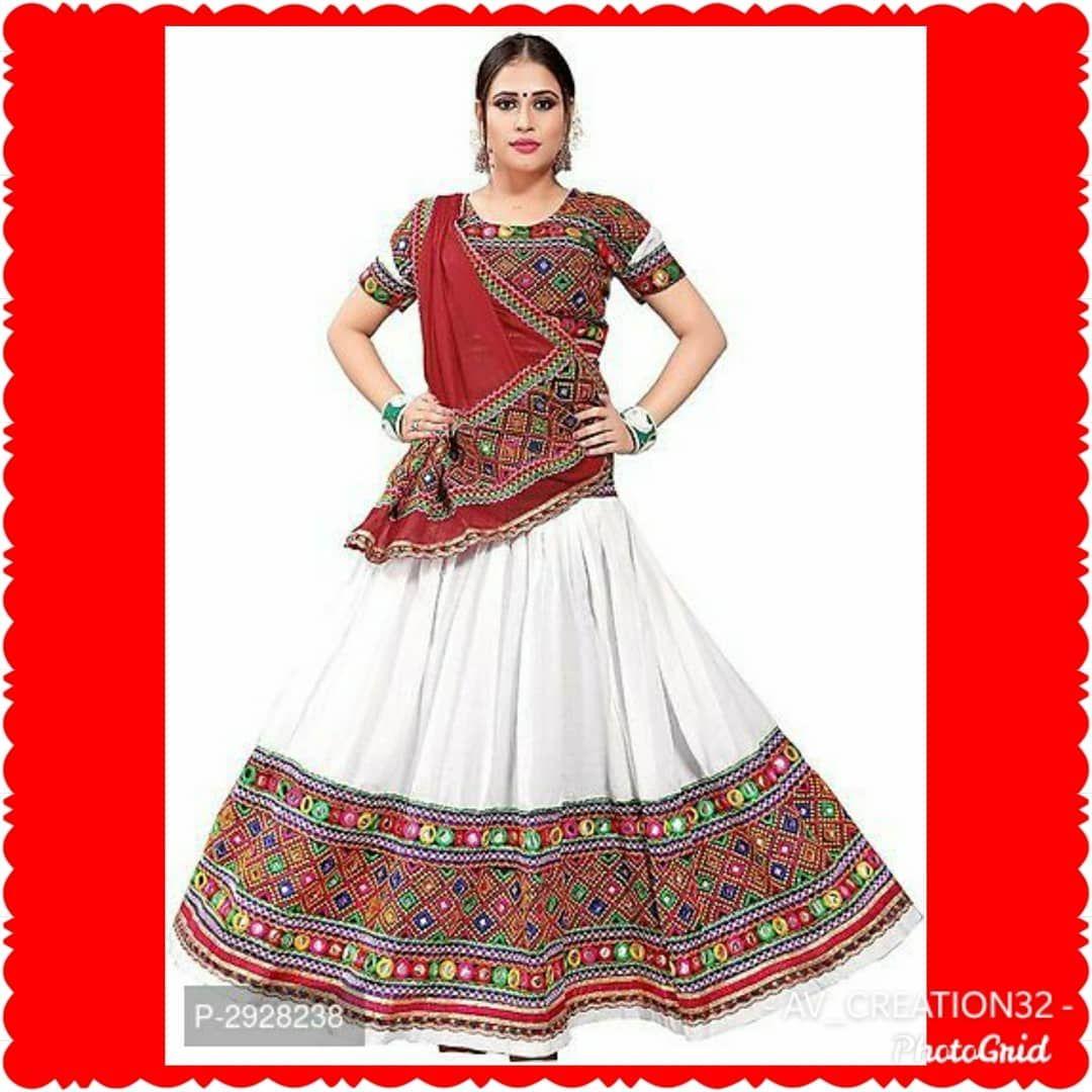 Celebrate Navratri with Beautiful Chaniya Choli Fabric: Cotton Type: Semi Stitched Waist: 32.0 - 40.0 (in inches) ... #chaniyacholi
