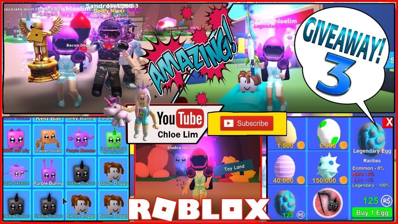 Mining Simulator Toy Land 4 New Codes And Giveaway 3 - mining simulator roblox mythical eggs codes