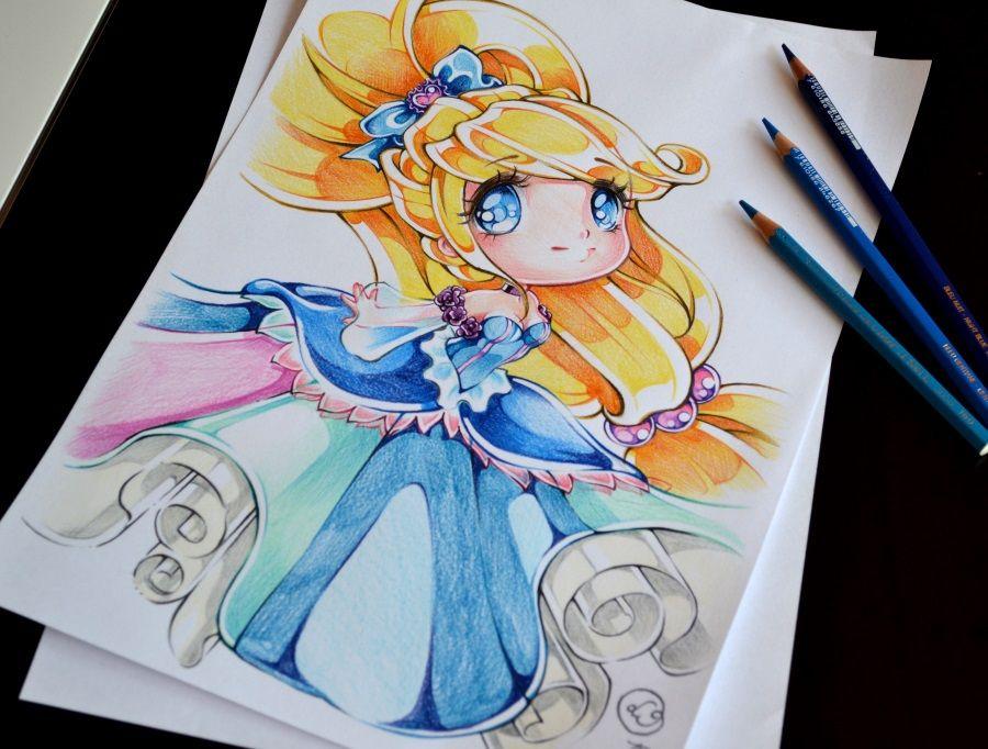 Pingl par f e clochette sur cendrillon dessin manga dessins disney et dessin kawaii - Dessiner princesse disney ...