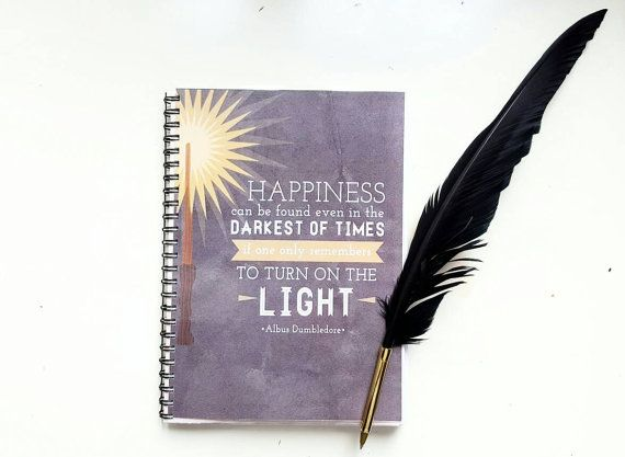 Harry potter planner 2016 -A5 size- with dumbledore cover!