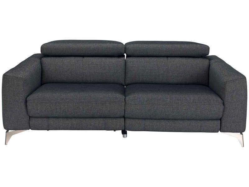 meilleure sélection 81d9c fb4ce Canapé de relaxation électrique 3 places PAXTON pas cher en ...