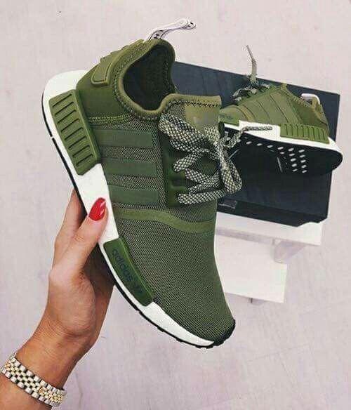 zapatillas adidas verde militar