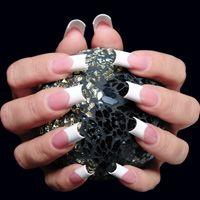 Crystal nails Nail art