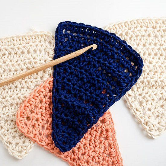 Making your own crochet buntings could really not be ...