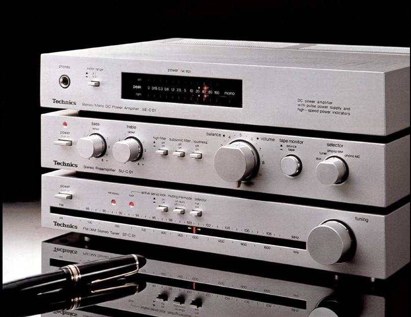 Technics Mini Hi Fi System Vintage Vinyl Stereo Late 70