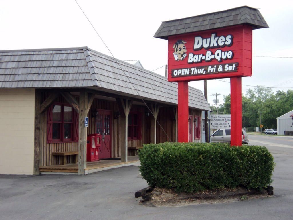 Dukes Bar B Que On Whitman In Orangeburg Destination Bbq In 2020 Bar B Que Bbq House Bbq Reviews
