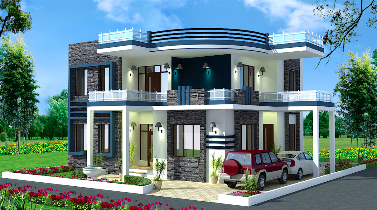 The 55 Best Home Design And Decorating Home Design Duplex House Design Small House Elevation Design Cool House Designs