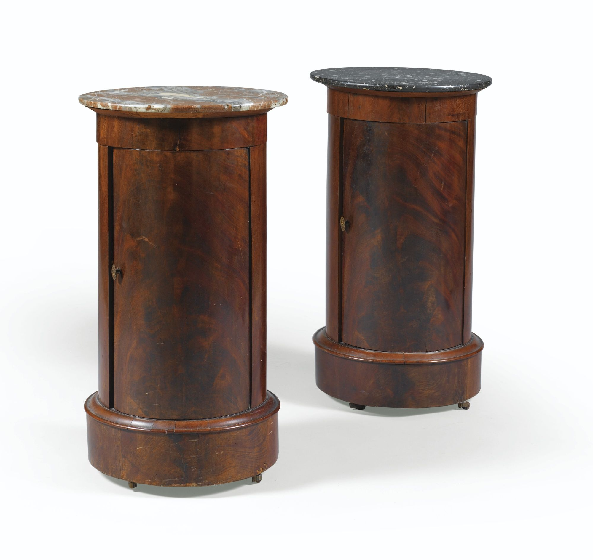 Best A Pair Of Mahogany Bedside Tables Empire Mobilier De 640 x 480