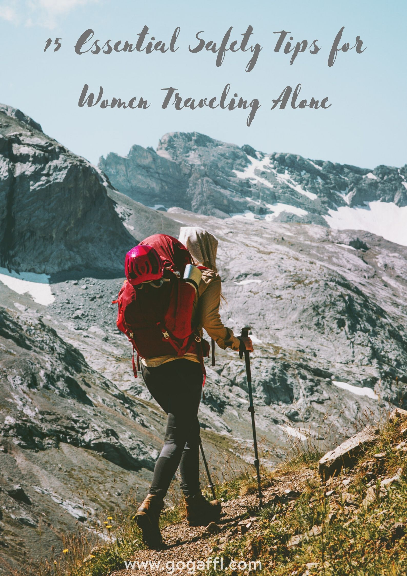 Safety Tips For Solo Female Travelers Female Travel Travel Alone Travel