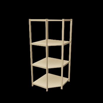 Ivar Corner Shelf 500 By Ikea Eckregale Garderobe Flur Eckregal