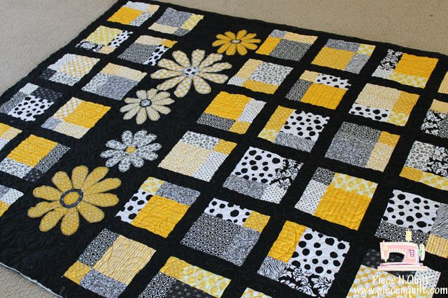 Jelly Roll Idea Yellow And Gray Quilts Piece N Quilt