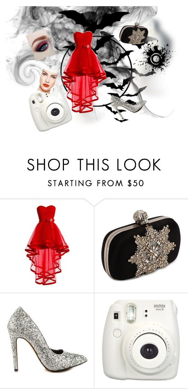 """""""idk #60"""" by tinavanrheede ❤ liked on Polyvore featuring Alexander McQueen and Michael Antonio"""