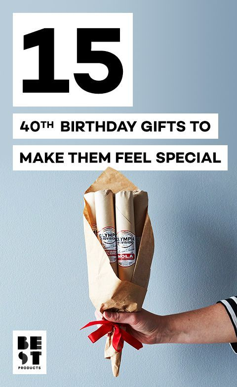 Turning 40 Is Never a Bummer With These Gifts in Hand
