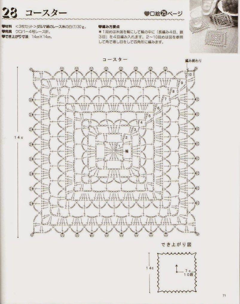 Patrones Y Motivos De Punto Adorno No 505 Crochet Pinterest Doily Diagram 2 Patterns Pin Crocheted Motif