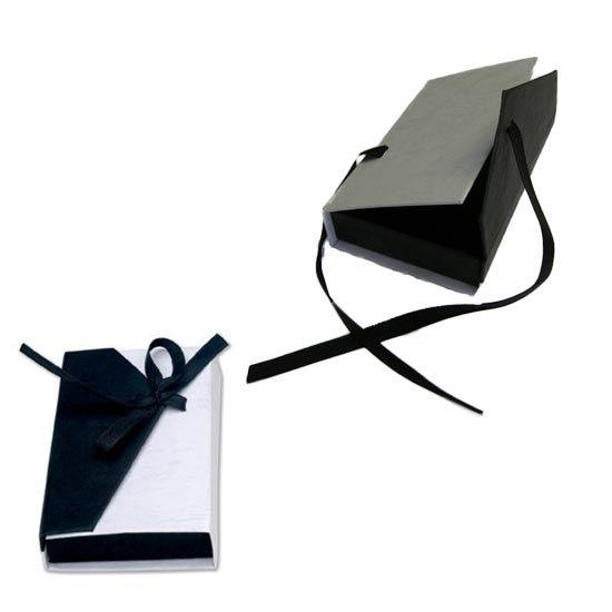 Black and White 2 Tone Favour Box