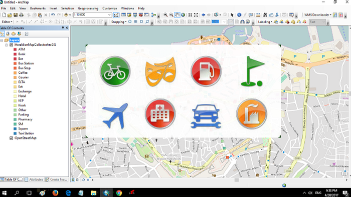 How to create custom awesome symbols for ArcMap in five