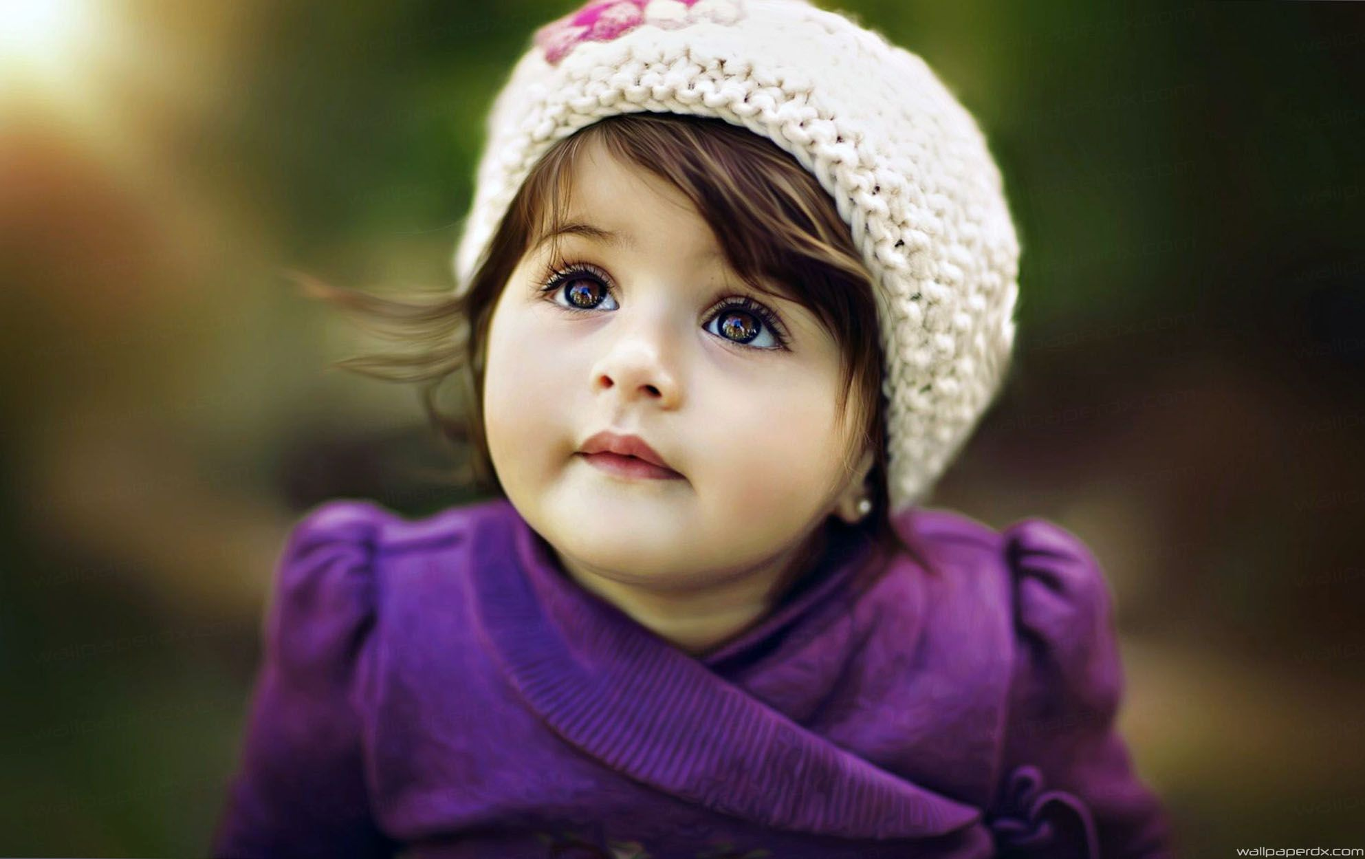 lovely baby face pretty cute full hd wallpaper Sekil.az