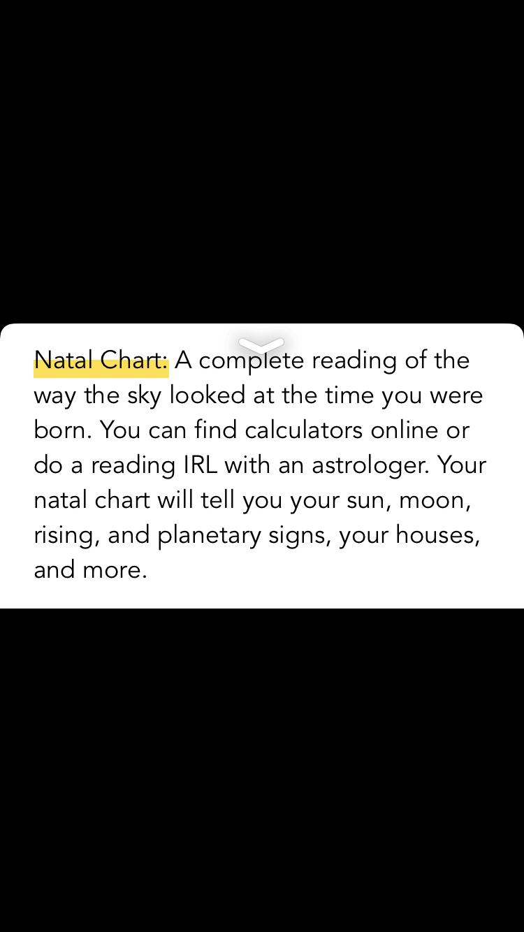 Natal Chart Description Horoscopes Pinterest