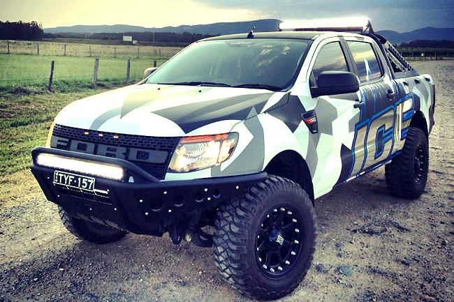 Ty Fenwicks 2013 Ford Ranger PX  Ford Ranger  Pinterest  Ice