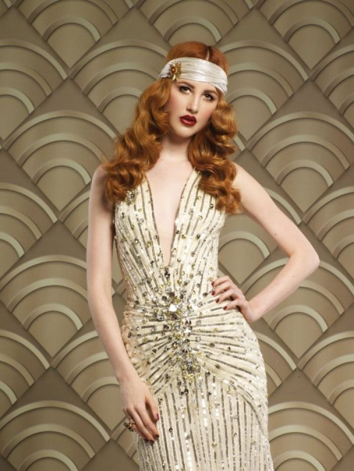 1920S Hairstyles For Long Hair Stunning 1920S Hairstyles For Long Hair Christmas With Vintage Headband