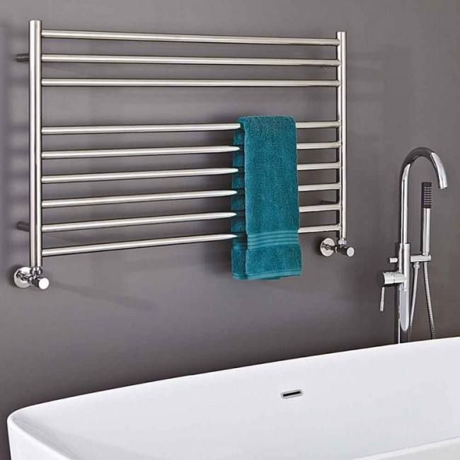 Electric Towel Rails | Towel Radiators | Heated Chrome ...