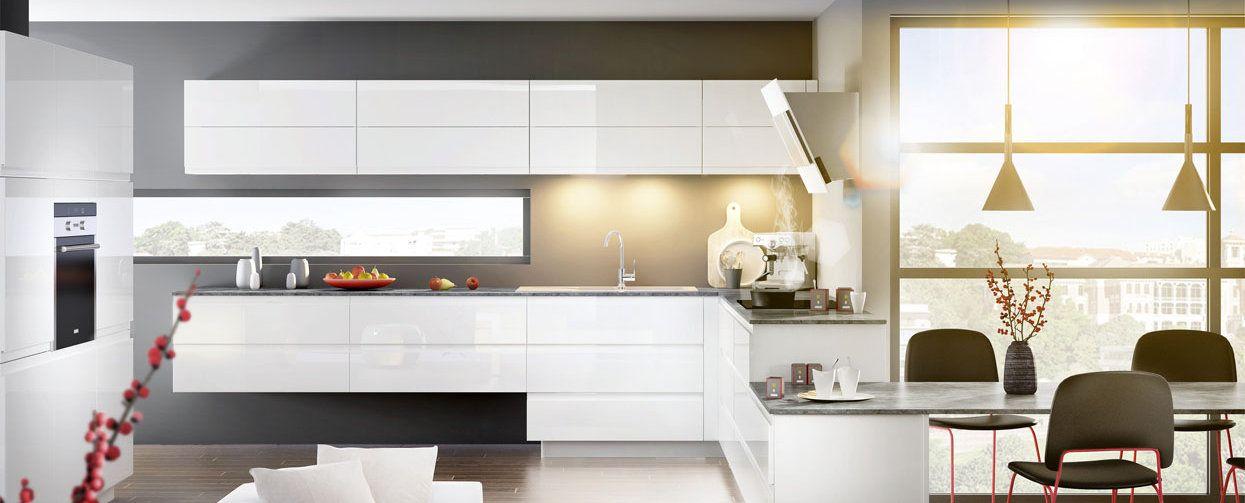 Super Ambiance Pure | Mobalpa, Cuisine équipée et Cuisine moderne blanche LN44