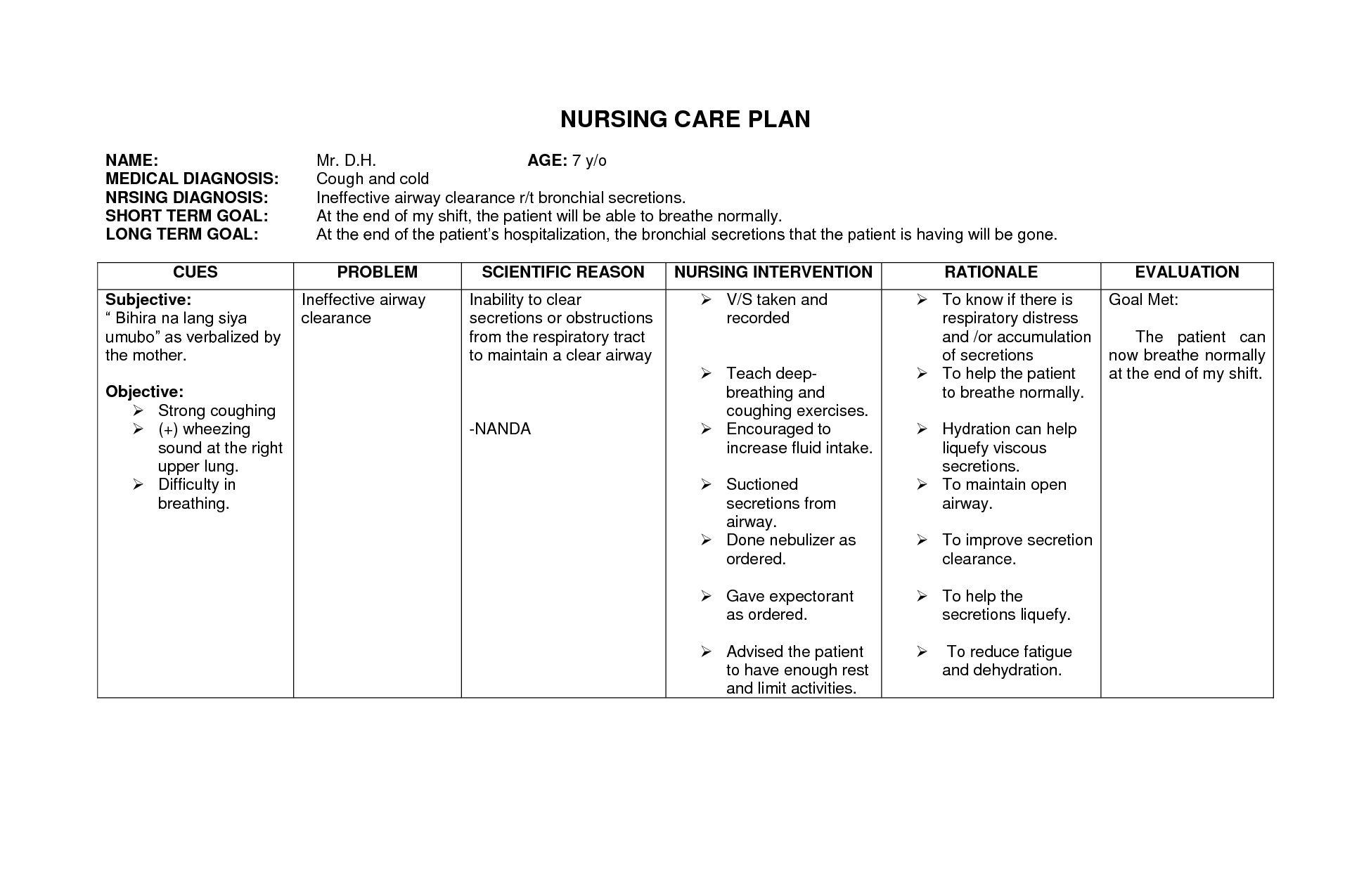 Blank Nursing Care Plan Templates Google Search Nursing Regarding Nursing Care Plan Template Wor Nursing Care Plan Nursing Care Plans Template Nursing Care