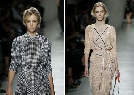 ギンガムチェックでガーリッシュに! 最新ファッショントレンド情報 ファッショントレンド シュワルツコフ オンライン
