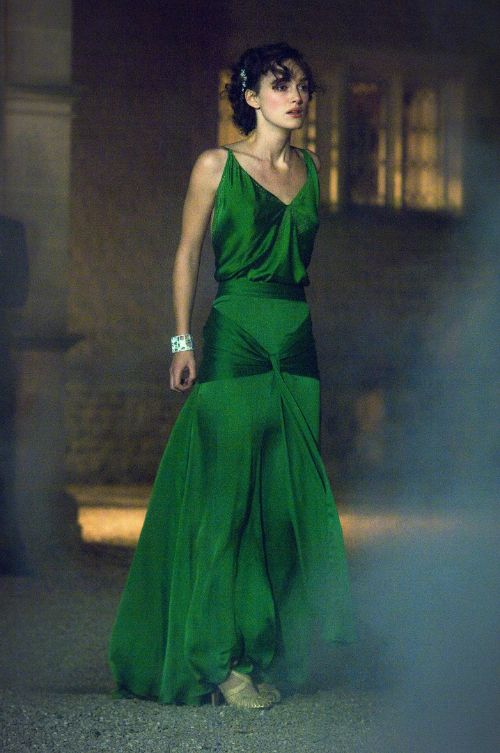 The Emerald Green dress Keira Knightley wore