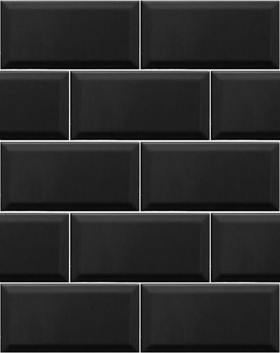 seamless black wall texture. Black Tile Seamless Wall Texture