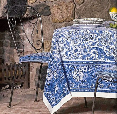 Cap Azure Square Colorful Table Linens Like These Have Adorned