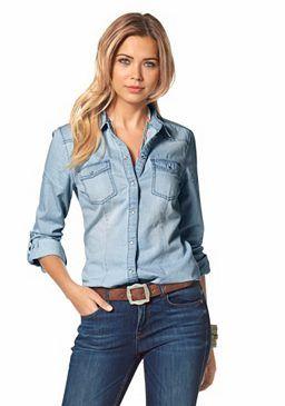 Only #Jeansbluse »Always Rock it« #denim #jeans