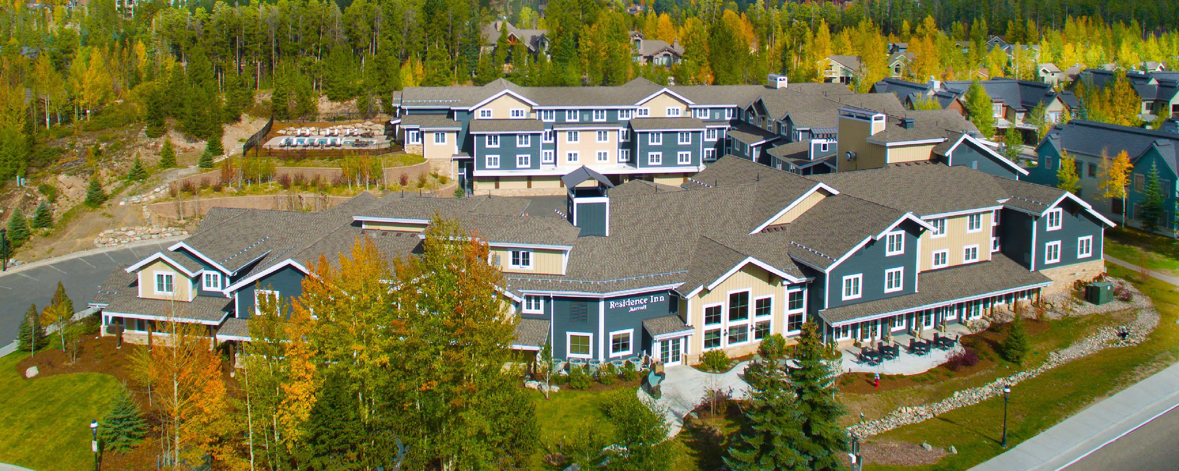 Residence Inn Breckenridge Modern hotel, Residences, Inn