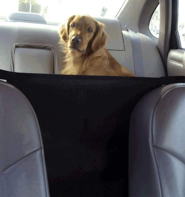 The Easy To Install Vehicle Pet Barrier Keeps Pets From