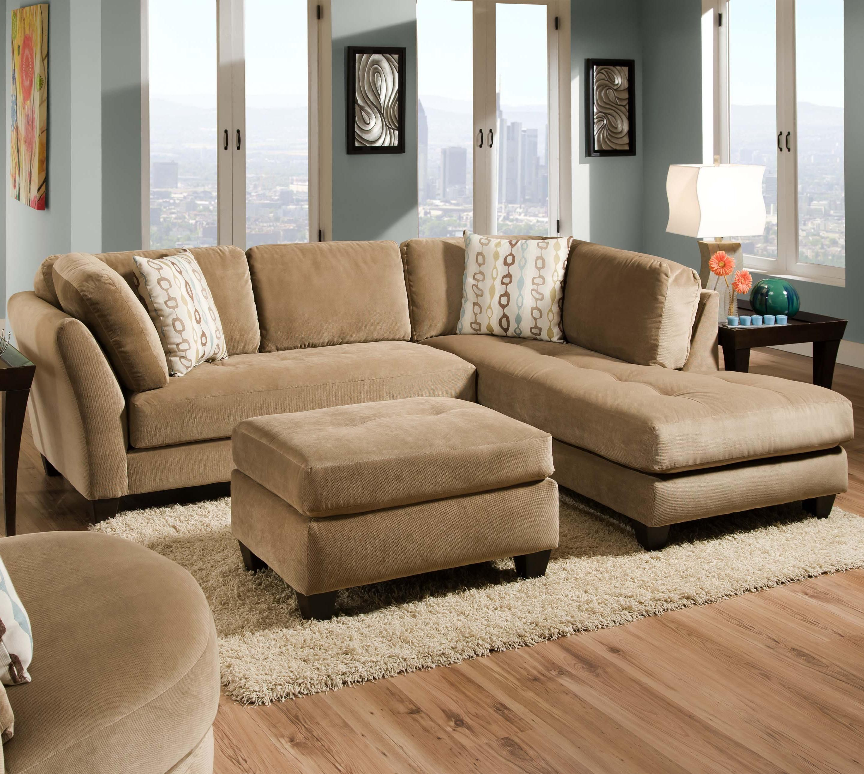 Slugger Mocha 2 Piece Sectional By Corinthian   Great American Home Store    Sofa Sectional Memphis, TN, Southaven, MS