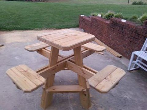 Bar Stool Picnic Table Build Chapter 1 Picnic Table Octagon