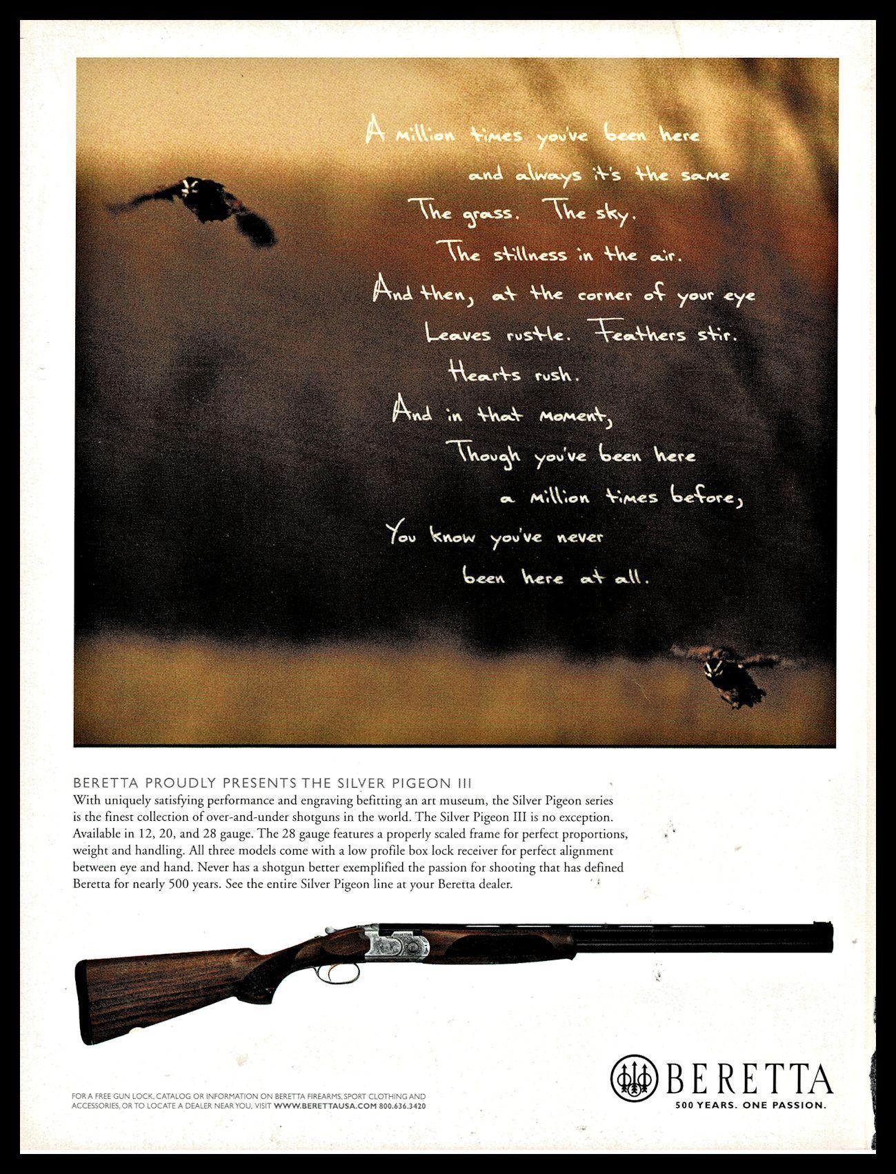 vn1904 Beretta Dealer Arm Gun Shop for Advertising Display Banner Sign